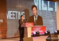 개회사하는 박창범 세계화상대회 조직위원장