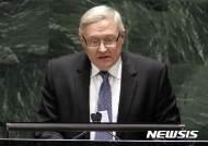 """러시아 외무부 """"미러 갈등으로 新전략무기감축 협정 흔들"""""""