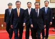 [종합]文대통령, 김기영·이종석·이영진 신임 재판관 임명장 수여