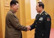 中국방부장, 北인민무력성 부상 만나 '북중 군사협력' 강조