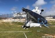슈퍼태풍에 부서진 비행기…풍비박산난 사이판