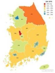 국민 10명 중 3명 '땅주인'…수도권 거주자가 전체 3분의1 소유