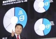 볼보트럭코리아 실적 발표하는 김영재 대표이사