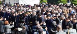 부산 유엔기념공원서 '턴 투워드 부산' 추모식 열려