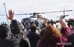 청해부대 28진 '최영함' 출항