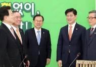 """평화당, 정운현·노형욱 내방에 """"호남 예산·쌀값 신경써달라"""""""