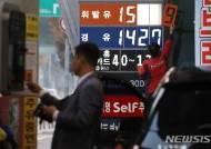 휘발유 가격 12일만에 133.5원↓…'유류세 인하분' 역전