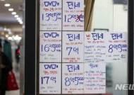'깡통전세 우려' 전세보증금 반환보증가입 2배↑…16조 돌파