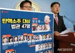 탄핵소추 대상 법관 47명