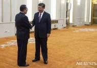 """시진핑 만난 리용호 """"북한, 비핵화 의지 확고"""""""