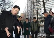 허태정 대전시장, 서구 민원현장 잇따라 찾아