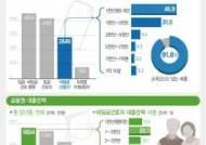 [그래픽]중·장년 비임금근로자 소득·대출 현황