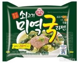 """오뚜기, '쇠고기미역국 라면' 인기에 """"마케팅 주력"""""""