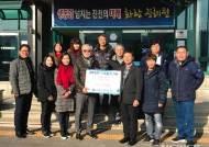 국가대표 후보선수 전임지도자회, 불우이웃돕기 성금 기부