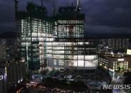 제주 드림타워 내년 하반기 완공 무난…공사 27층까지 진행