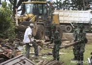 印尼 당국, 쓰나미 피해 인근 출입금지 구역 확산