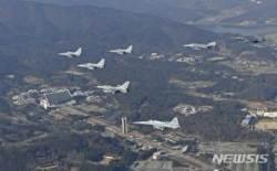 3.1운동·대한민국 임시정부 수립 100주년, 공군 한반도 상공 비행