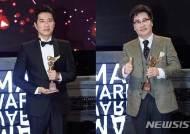 'KBS 연기대상' 유동근·김명민 공동 대상…'하나뿐인 내편' 8관왕(종합)