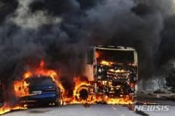 브라질 폭력사태 계속..범죄조직, 송전탑 차판매소도 폭파