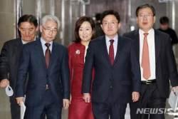 한국당 조직강화특별위원회 기자회견