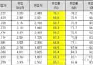2017년 대학취업률 대전충청권 대학 선전