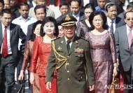 """캄보디아 훈센, """"중국이 6억달러 무상원조""""…야당탄압 비난 중"""