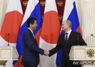 일-러 정상, 양국 간 평화 조약 체결 등 논의
