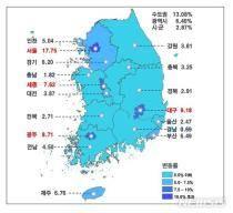 [공시가 현실화]표준단독주택 서울 17.75%↑·전국 9.13%↑…한남동주택 270억 최고가(종합)