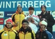 스켈레톤 기대주 정승기, 대륙간컵 종합 우승