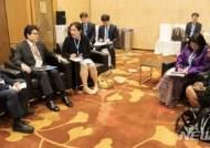 조명래-음수야 UNEP 사무총장 권한대행 양자회담
