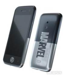 어린이 전용 스마트폰 '미니폰' '마블_블랙' 색상 출시
