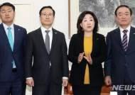 """한국당, 자당 뺀 선거제 논의에 """"여야 합의가 불변의 전통"""""""