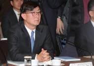 안효준 국민연금 기금운용본부장 굳은 표정