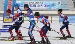 2019뉴시스 강원 전국 크로스컨트리스키대회 '성공 개최'