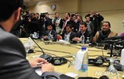 예멘 정부와 포로교환 협상 테이블에 앉은 후티반군