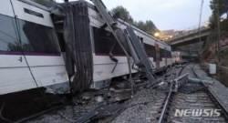 스페인 바르셀로나서 열차 충돌사고...최소 1명 사망 100명 부상