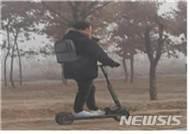 """전동킥보드 운전자 30% """"보호장구 착용 안해"""""""