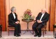 강경화 장관, 이란·러·佛 외교회담…한반도 정세 등 논의(종합)