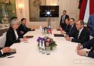 한-러 외교장관, 한반도 비핵화·항구적 평화정착 공감