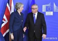"""융커 EU 집행위원장 """"브렉시트, EU의회 선거 이후에도 가능"""""""