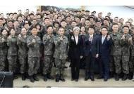 강경화 장관, 육군 제17보병사단 위문 방문…장병들 격려