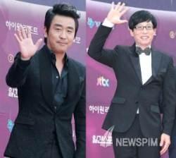 '백상예술대상' 류승룡-유재석 대상 수상, 재치-개념 소감 '호응'