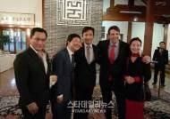 한국영화배우협회 거룡 이사장-김보연 수석 부이사장, 미국대사관 주최 리셉션 참석