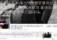 '제주해녀' 유네스코세계문화유산등재 SNS로 홍보