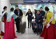 칭키즈칸 후예 몽골 관광객 청주공항 입국