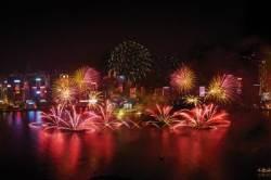 연말, 홍콩에서 대규모 불꽃축제 등 펼쳐져