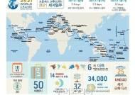 꿈의 여행 '세계일주'! 크루즈로 111일간 32개국 50개 여행지 돌아볼까!