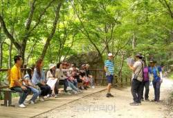 청송군,'주왕산 세계지질공원 나들이' 개최