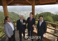 송하진 전북도지사,무주군 찾아 산림자원 중요성 강조