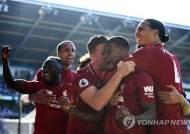 리버풀, 카디프 꺾고 선두복귀…'리버풀 우승은 맨유에 물어봐'